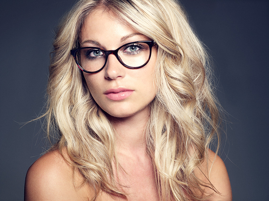 Beauty Shoot for Louis Nielsen Brille Look 2012 the 4 finalists