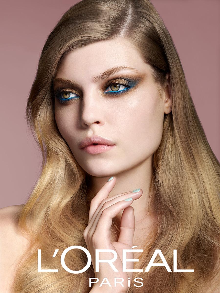 L Or 233 Al Paris National Beauty Campaign Denmark