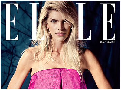 ELLE Cover story December – The Beauty May Andersen
